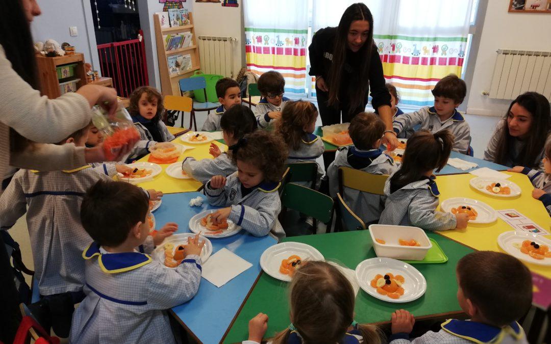 Talle de Cocina Alumnas Ciclo en Infantil