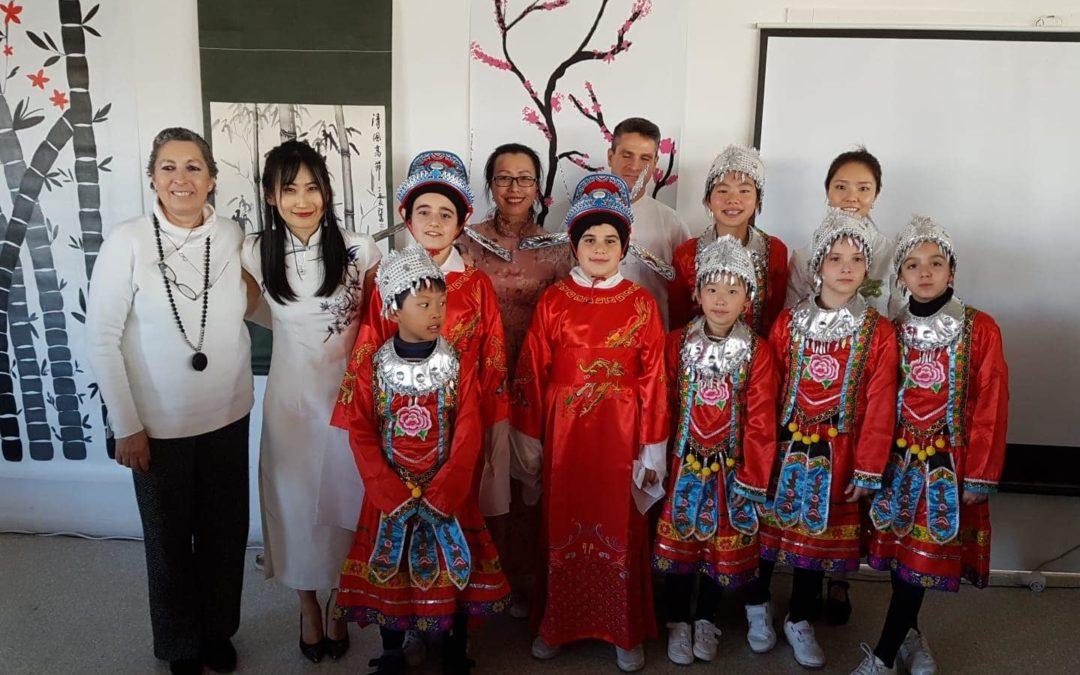 Espectáculo Año Nuevo Chino