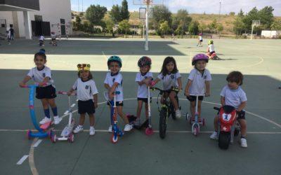 Día sobre Ruedas en Infantil