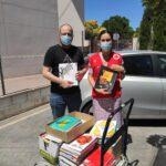 Donación de Libros a Cruz Roja